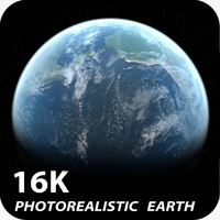16k Photorealistic Earth