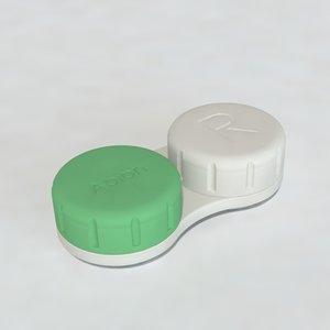 3d model lense case contact