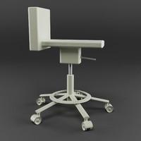 3d 360º chair