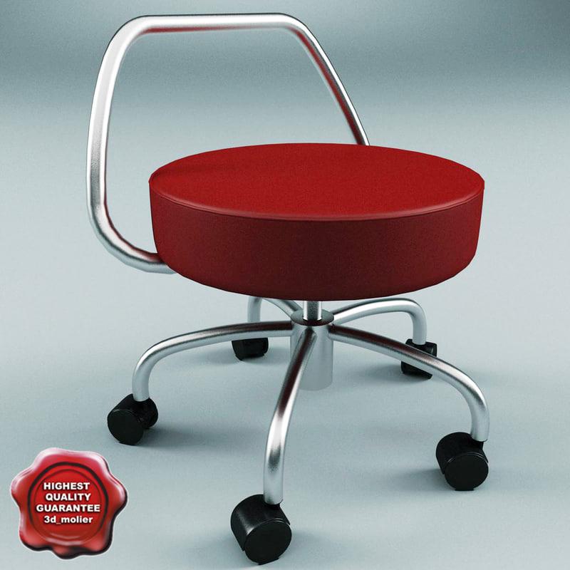 3d armchair v14 model