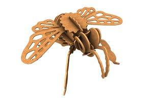 bee wooden c4d