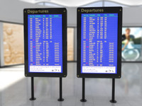 Airport Times Board