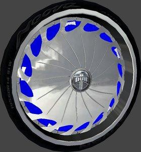 3d dub drama wheel model