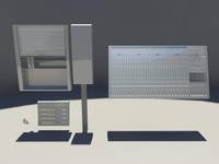 inventory security - 3d model