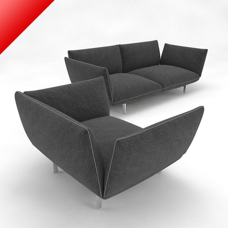 jalis sofa chair obj