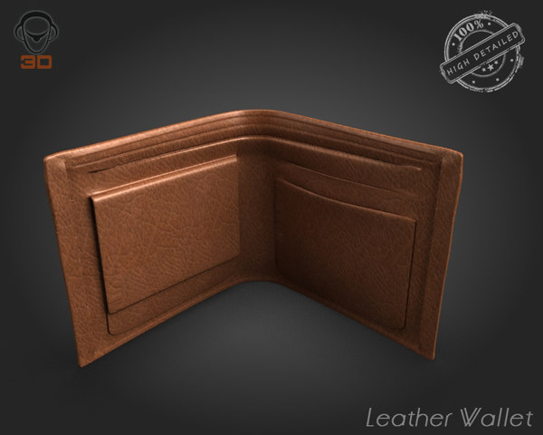 max leather wallet