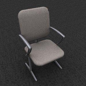 single office chair tan max
