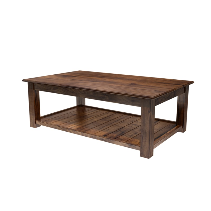 maya coffee table wood