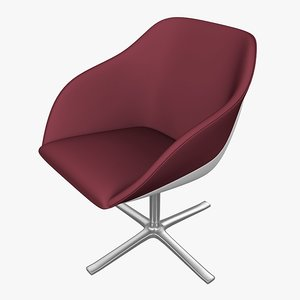 3d armchair walter knoll model