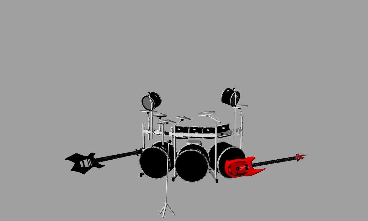 3d band model