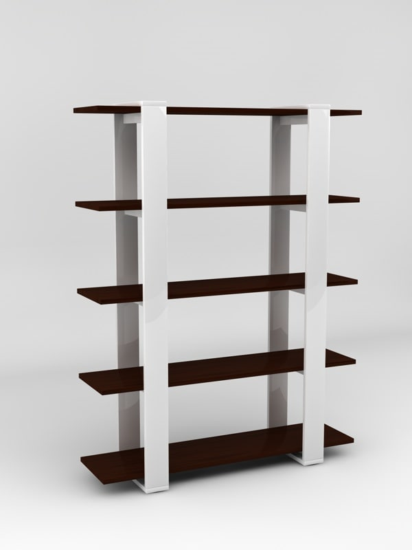 3ds max bookcase display stand