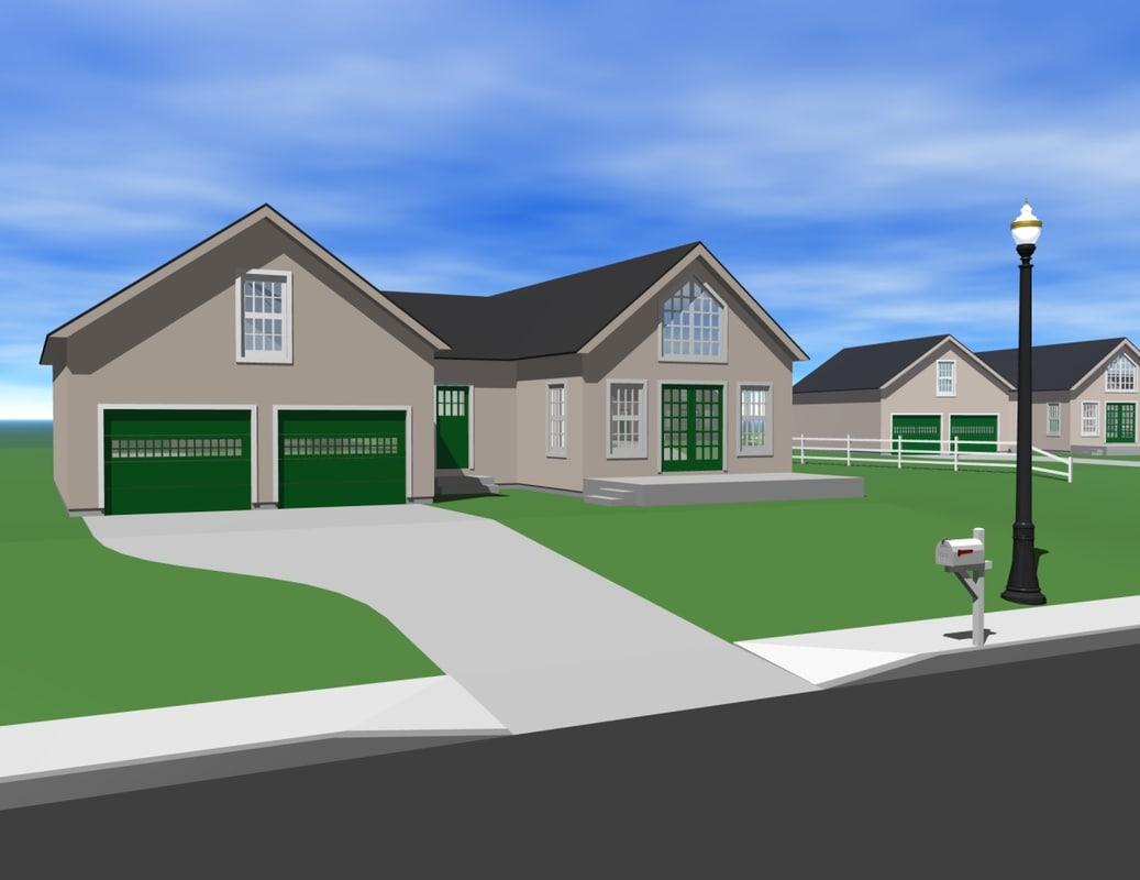 home culdesac 3d model