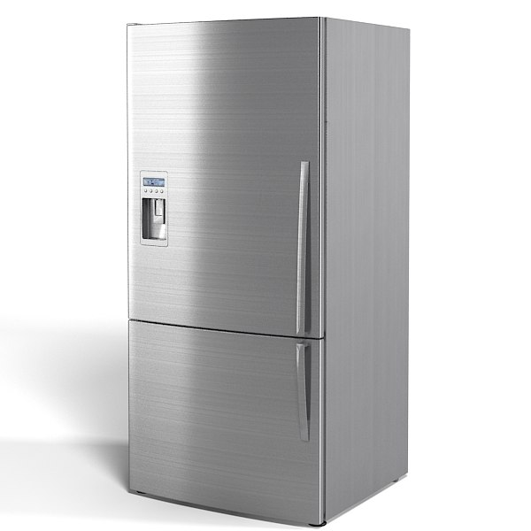 3d fridge fischer paykel