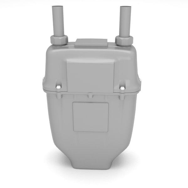 3d gas meter gasmeter