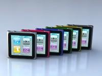 3d model music ipod nano