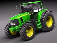 3d john deere 6930 tractor