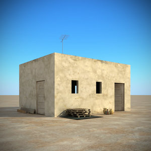 3d arab buildings model
