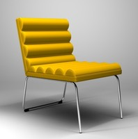 3d model of chicago easy chair