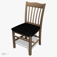 holsag montana dining chair 3d model