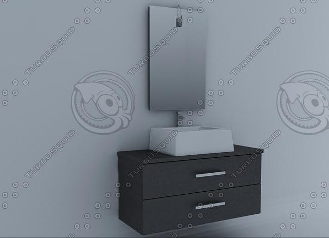3d model furniture wenge 100 by-809