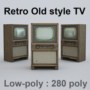 old style tv max