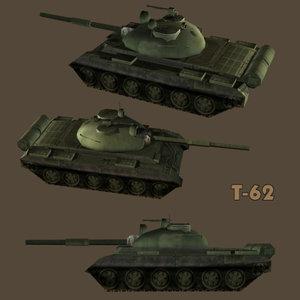 battle tank t-62 3ds