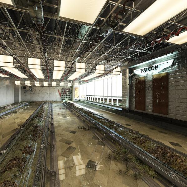 maya old warehouse grow room