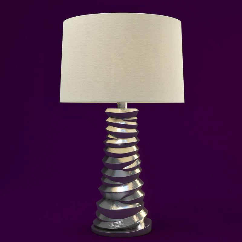 3d mcguire table lamp model