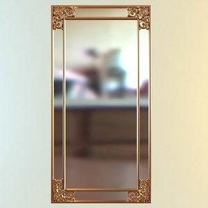 mirror wall rectangular max