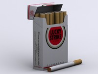 Lucky Strike Cigarettes Box