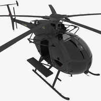 3d mh-6e little bird helicopter
