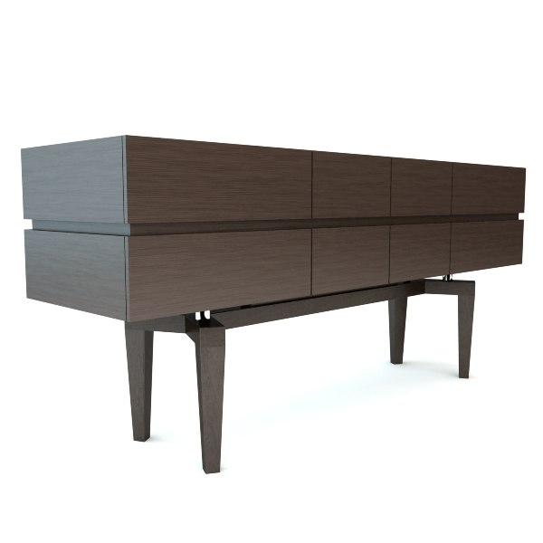 3d model giorgetti chest