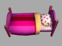 Cartoon Bed