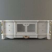 cabinet credenza 3d 3ds