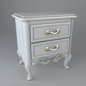 nightstand drawer 3d model