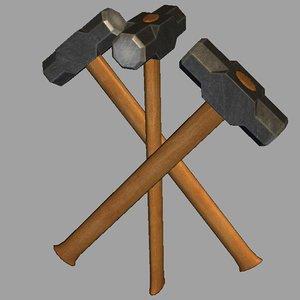 obj hammer sledge