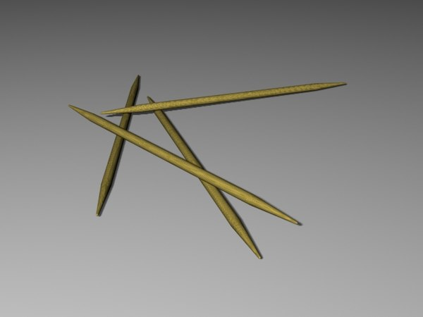 tooth pick toothpick 3d model