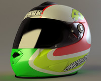 shark rsr2 helmet 3d max