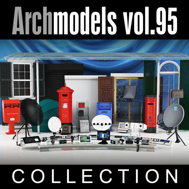 3d archmodels vol 95 model