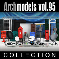 3d archmodels vol 95 model