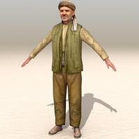 arab afghani casual 02 max