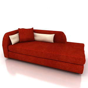 3d couch - roma sofa