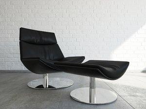 3d model of desiree kara chair