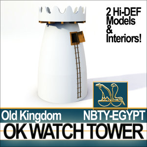 3d ancient egyptian old kingdom model
