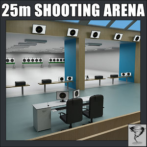 olympic 25m rapid shooting dxf