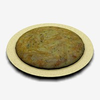 3ds max omelette tortilla traditional