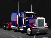 optimus prime 3d max