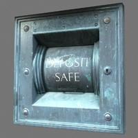 3d model of deposit safe