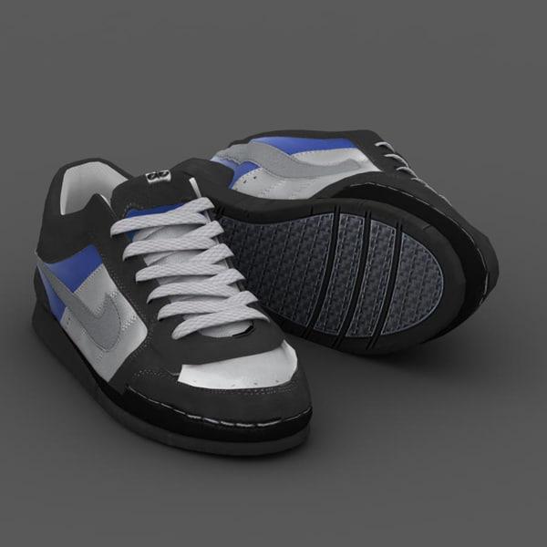 3d sport shoes model
