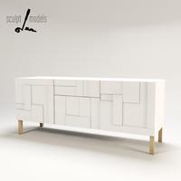 alba console 3d model